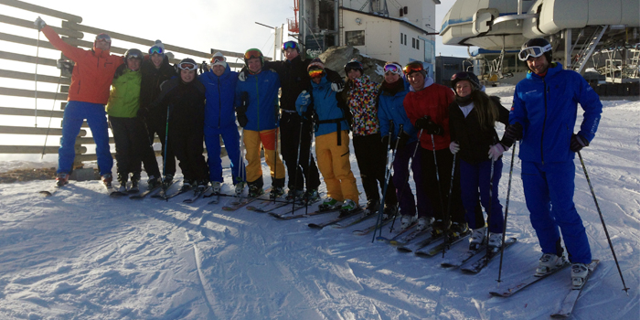 BASI ski intructor course