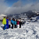 BASI GAP ski instructor course verbier