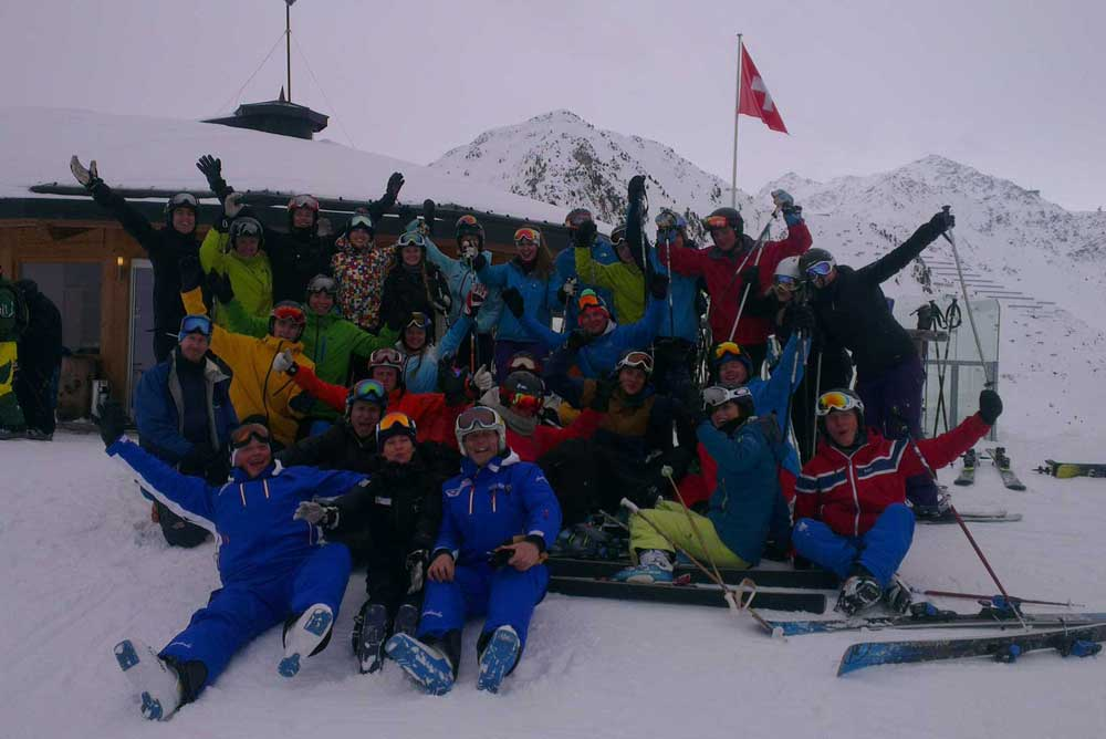 BASI Level 2 ski instructor course