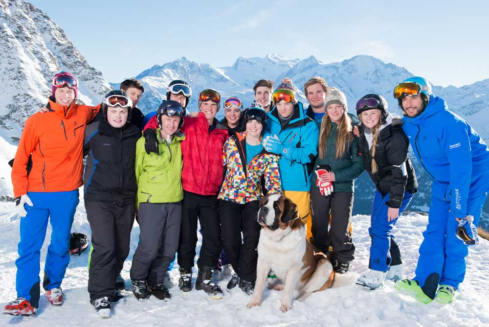 Verbier ski instructor course