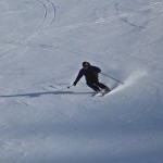 ISIA ski training in Verbier