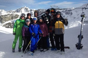 BASI ski instructor course Verbier