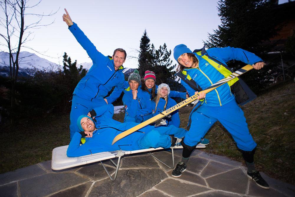 ISIA training and ski instructing