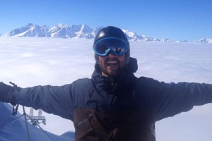 Verbier ski instructor Alex McRobb