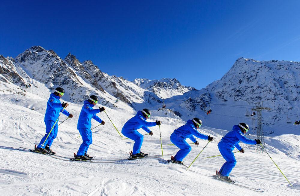 Information moguls skiing verbier
