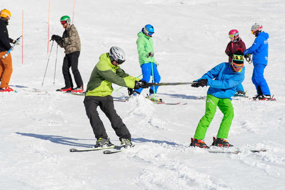 ski instructor training verbier