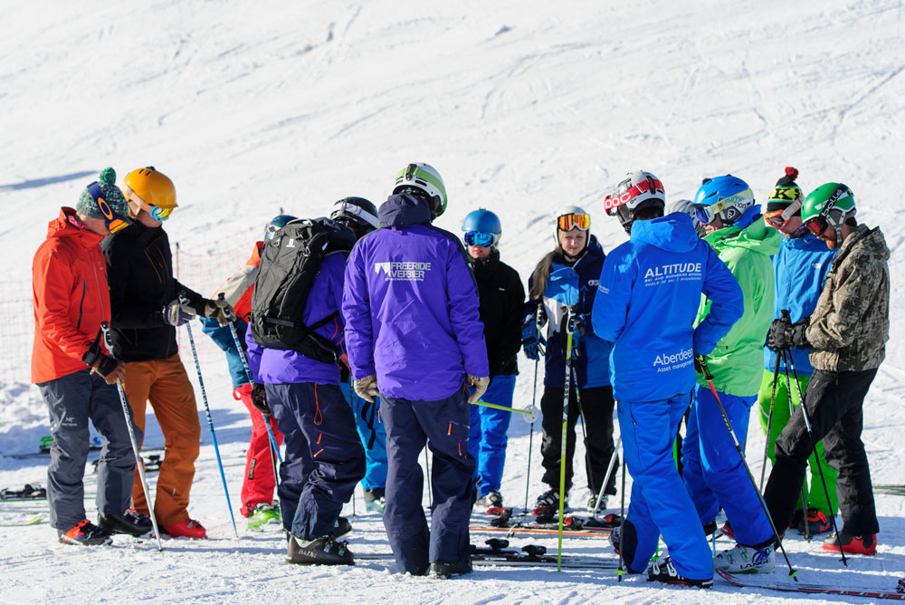 Verbier BASI Level 4 training course