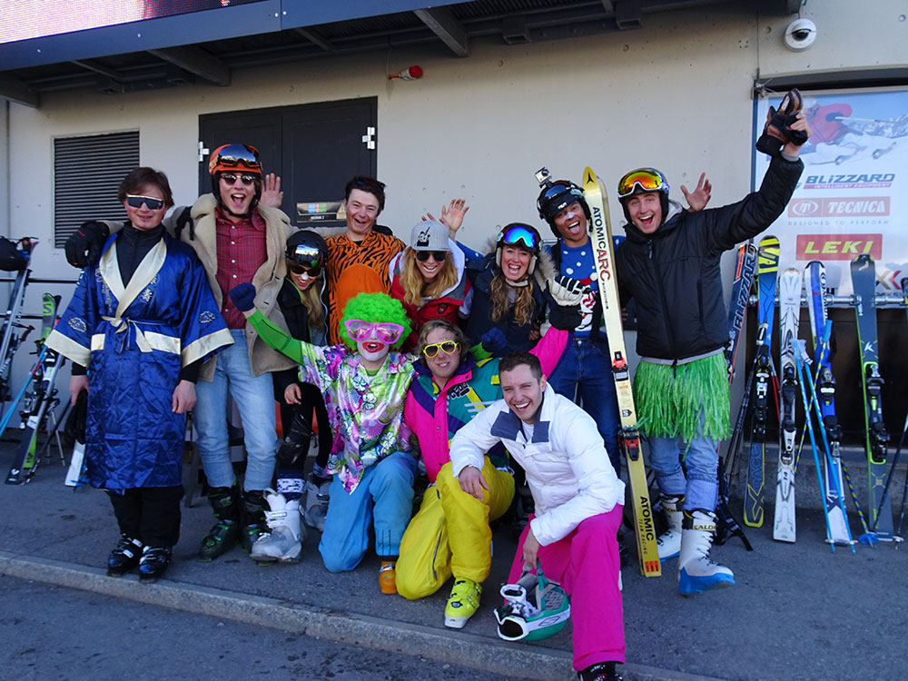 Verbier ski instructor training