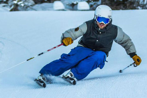 Verbier ski instructor