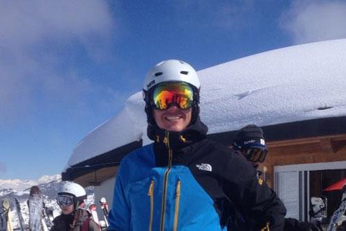 Verbier ski instructor Dean