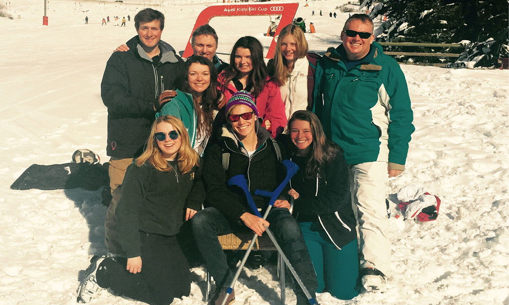 GAP ski instructor course