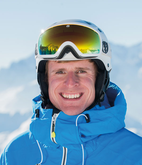 Ski Coach Harry Steel