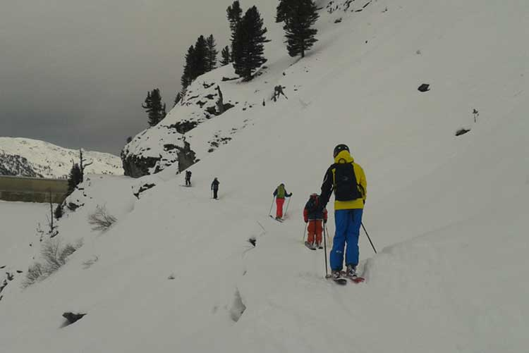Verbier mountain safety course