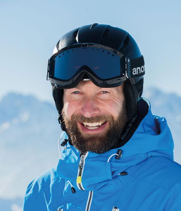 Ski Coach Sandy Miller
