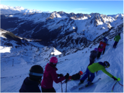 ski school verbier
