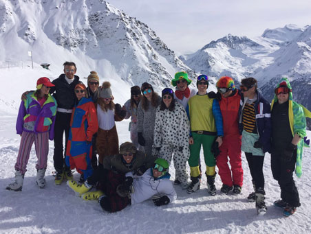 Ski instructor course verbier