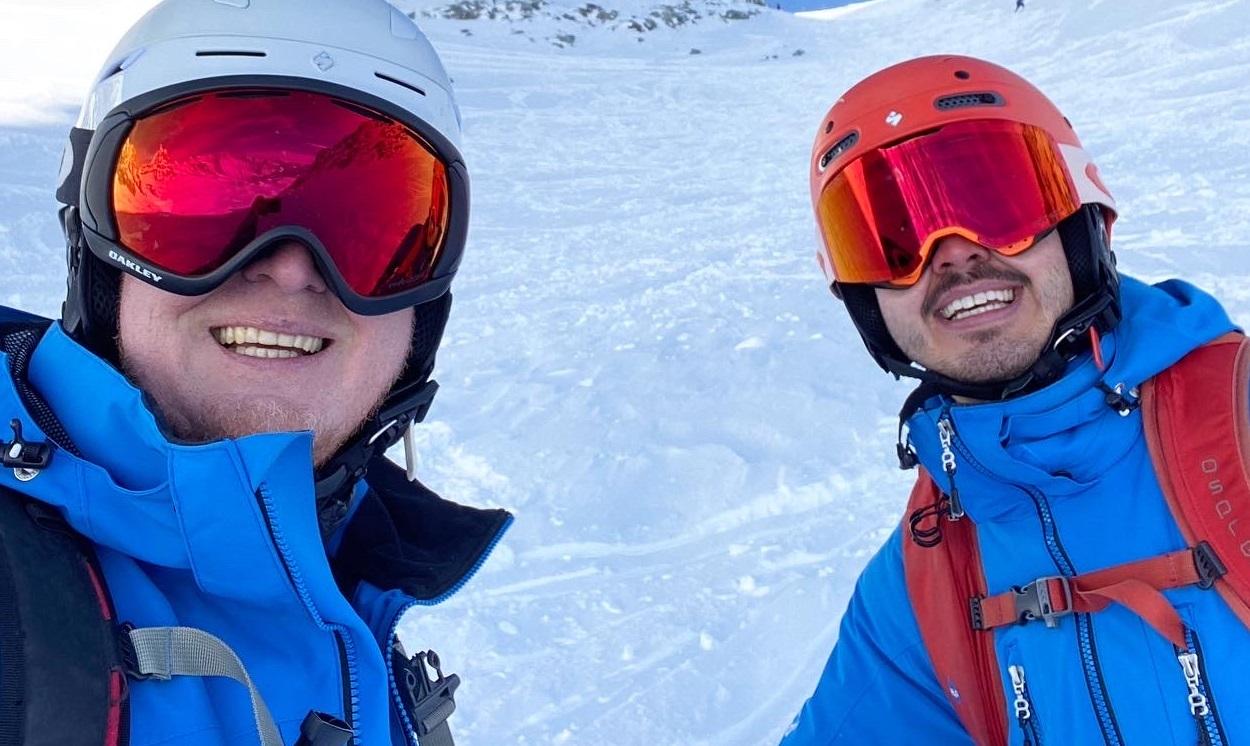 Altitude ski team training in Zermatt