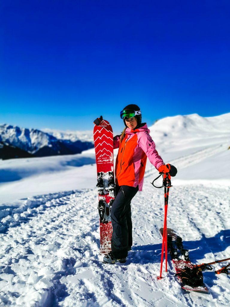 mono ski verbier